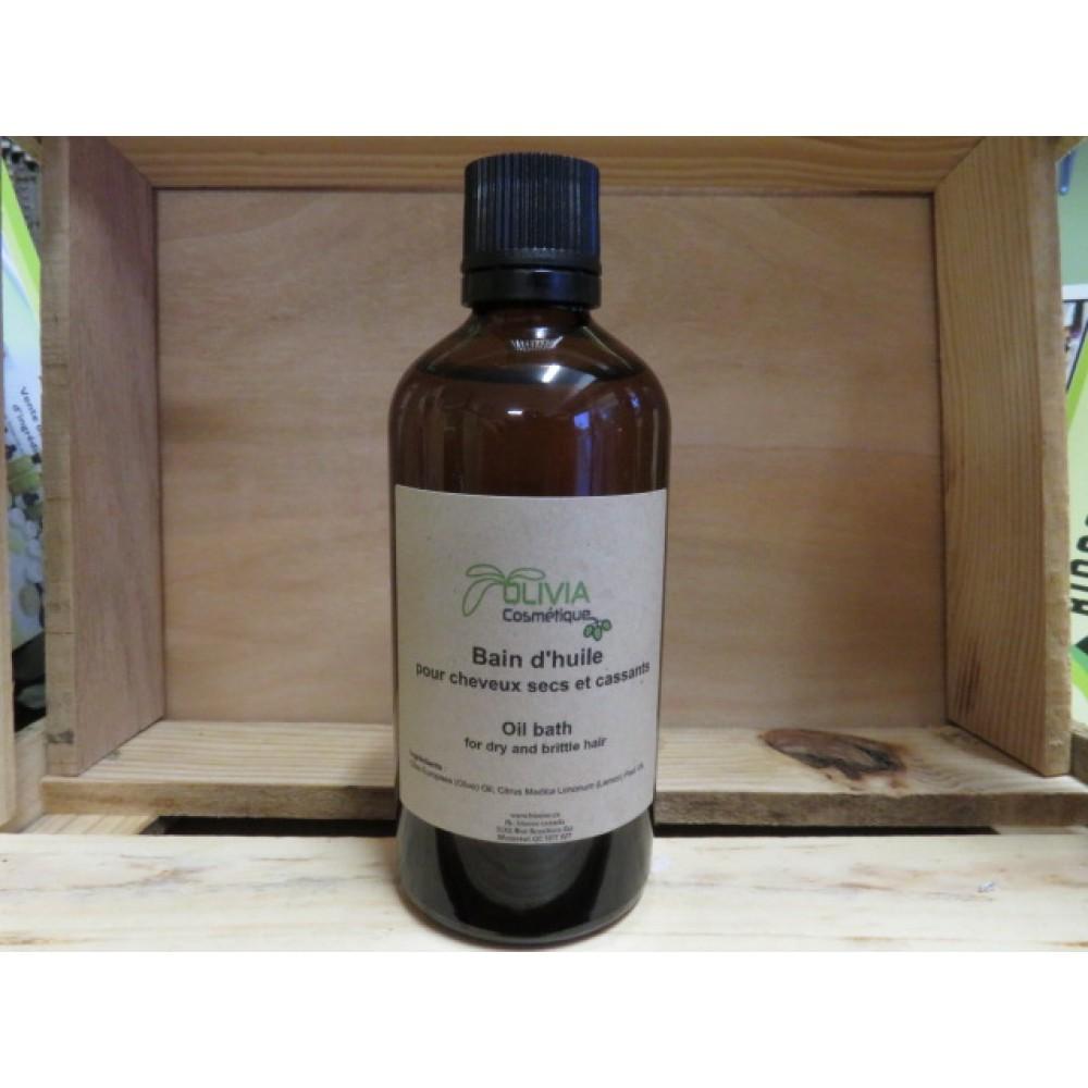 bain d 39 huile pour cheveux gras base d 39 huile d 39 olive extra l g re et huiles essentielles 100. Black Bedroom Furniture Sets. Home Design Ideas