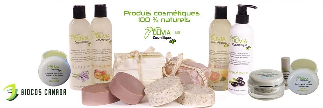 Produits cosmétiques naturels Beaubien